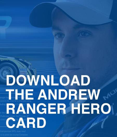 Andrew Ranger - Hero Card