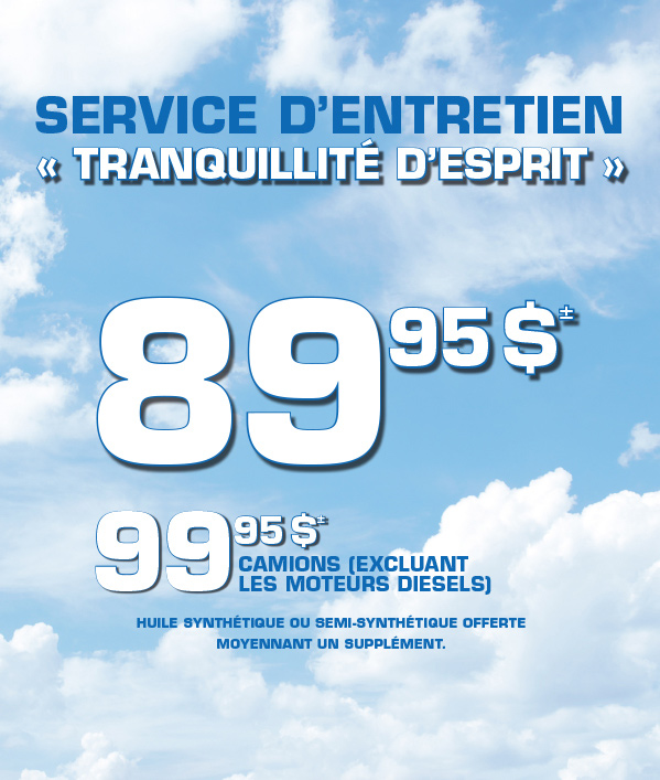 Atlantic Service Promotion 2018 French