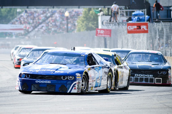 RANGER SETS QUALIFYING RECORD AND FINISHES SECOND IN MOPAR DODGE AT GP3R