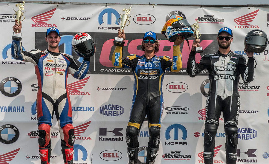 Red hot Szoke scorches to Edmonton Superbike win